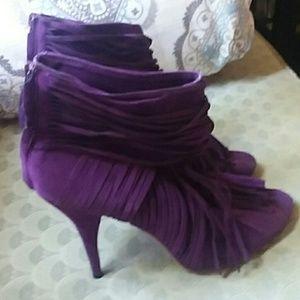 Purple heels size 9